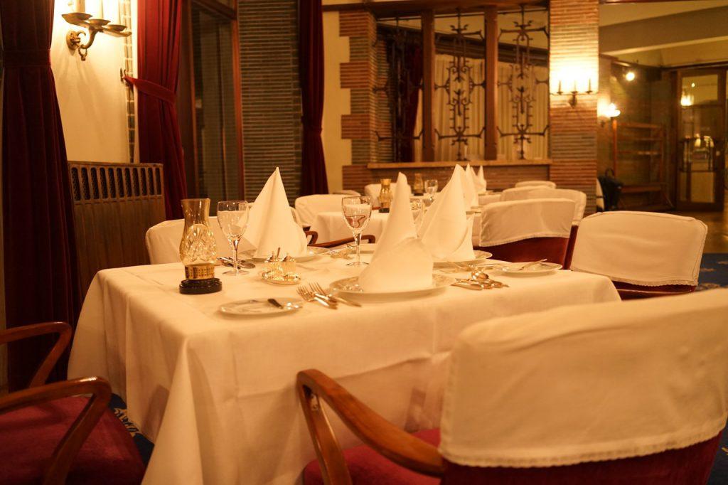 素敵なディナーテーブル