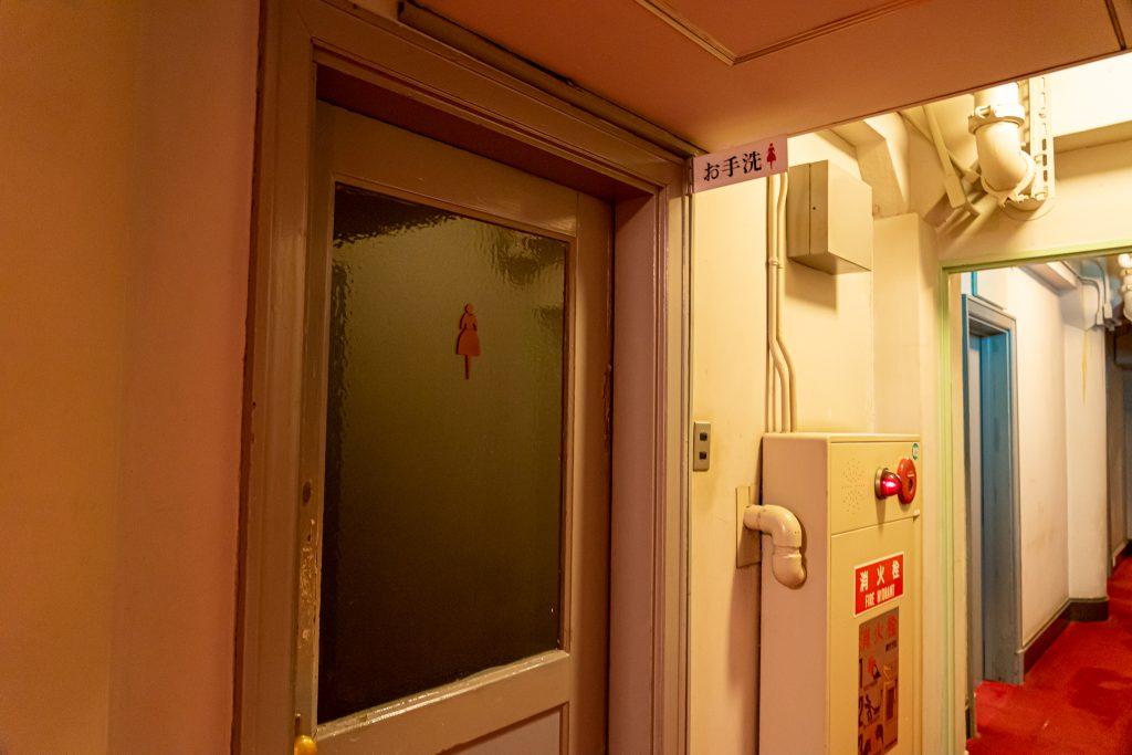 宝塚ホテルの4階