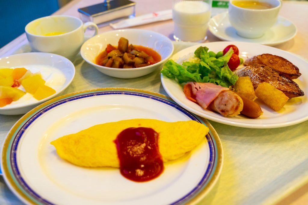 宝塚ホテルの朝食